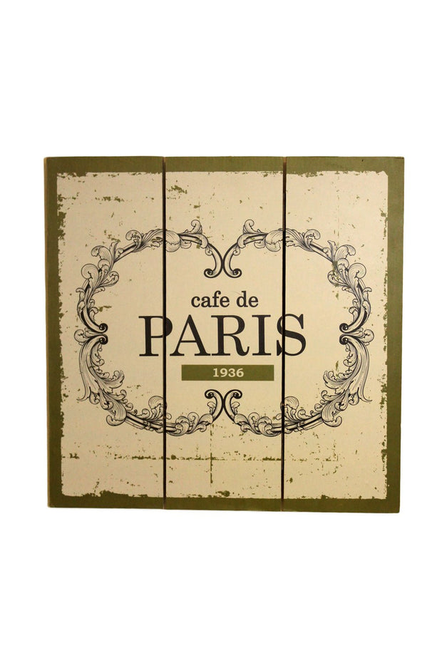 Paris Wall Plaque