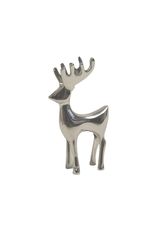 Silver Nickle Reindeer