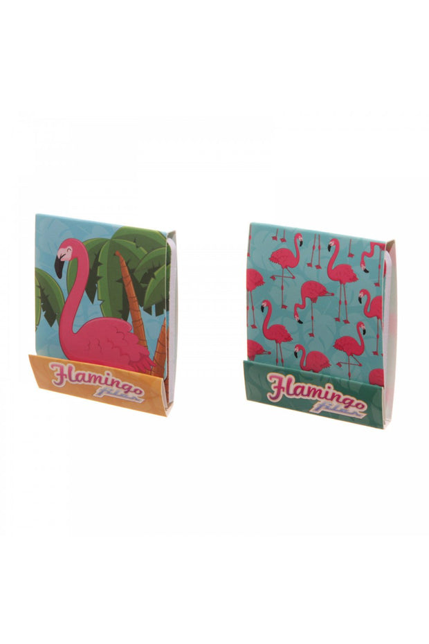 Flamingo Nail File Matchbook