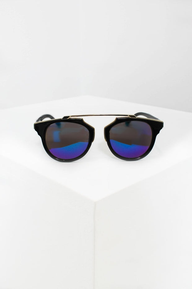 Love Child Black & Gold Sunglasses