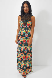 Daya Floral Lace Maxi Dress