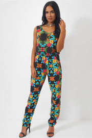 Day Dreamin Floral Jumpsuit