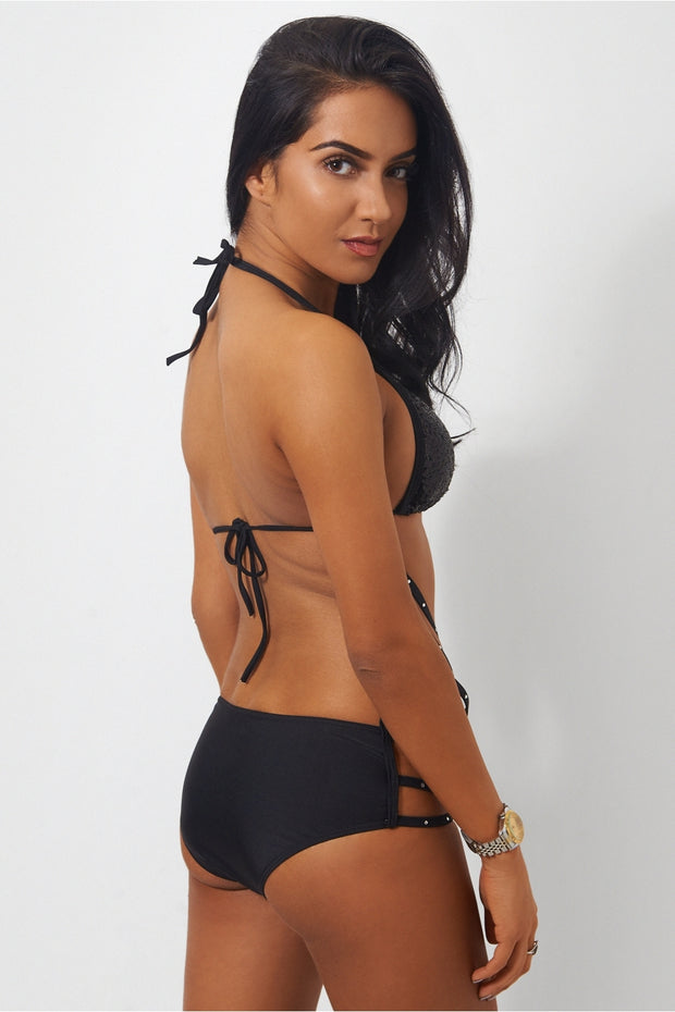 Limited Edition Black Sequin Swimsuit