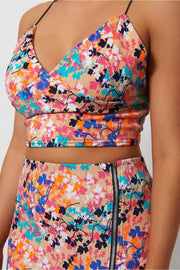 Cross Back Orange Co-Ord