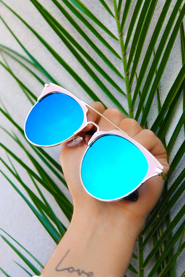 Dune Green & Blue Sunglasses