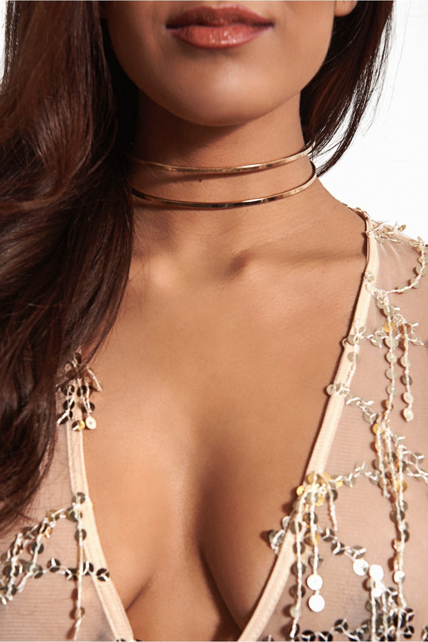 Lima Double Gold Choker