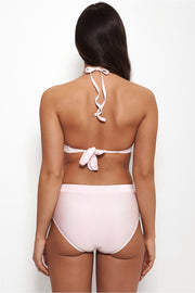 Cici Pink High Waisted Bikini