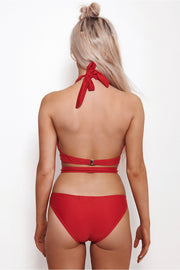 Marbs Red Swimsuit