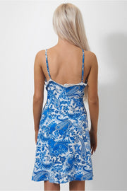 Darcy Blue Floral Shift Dress