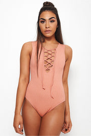 Venus Lace Up Bodysuit