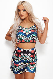 Olivia Black Aztec Co-Ord