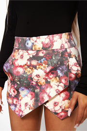 Bella Floral Pocket Skort
