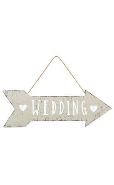 Shabby Chic Wooden Wedding Sign