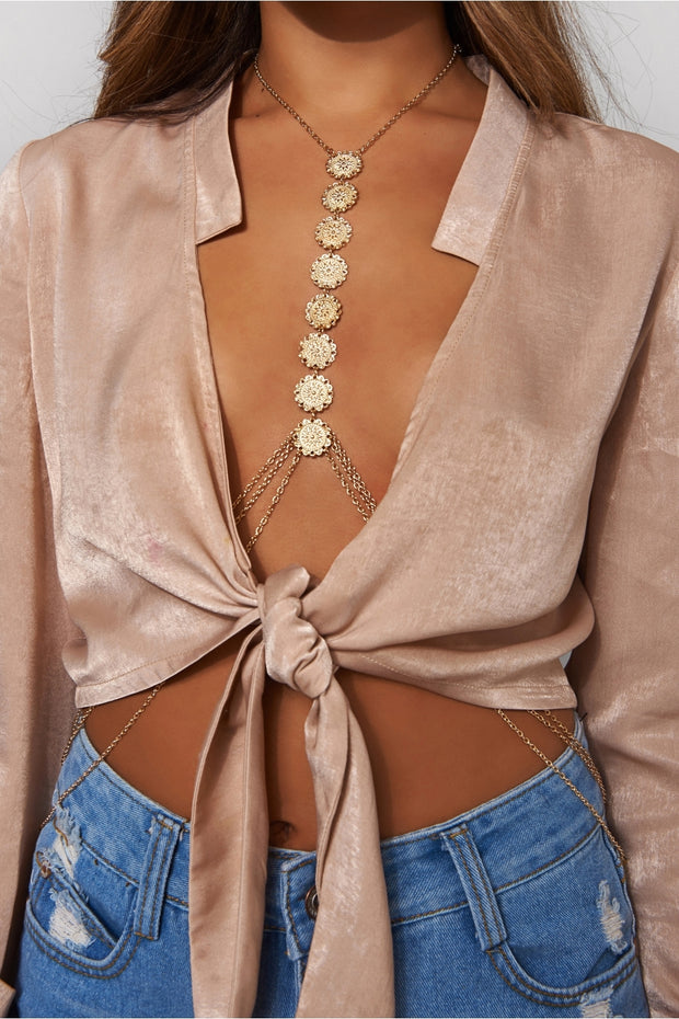 Iya Gold Body Chain