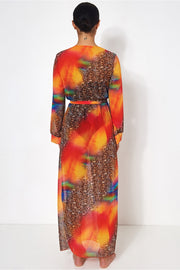 Saca Multicoloured Kaftan