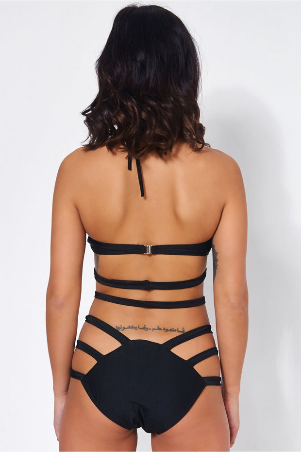 Ibiza Black Strap Swimsuit