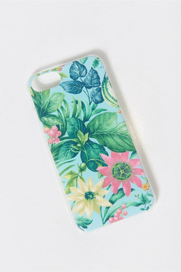 Tropical Print Mobile Phone Case iPhone 8