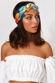 Samui Orange Tropical Headband