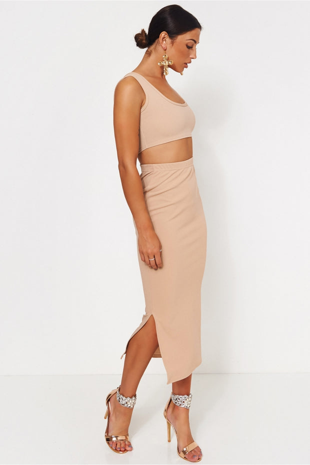Lilli Beige Co-ord