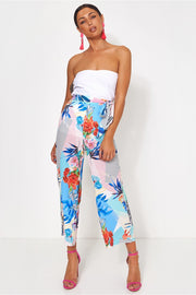Lola High Waisted Floral Culottes