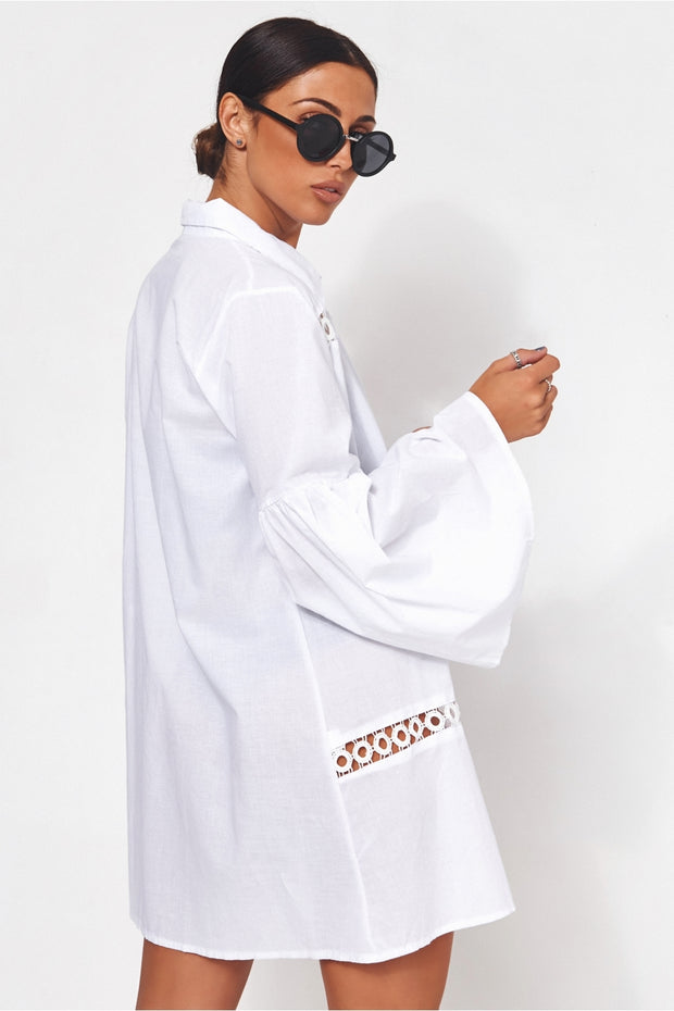 Limited Edition White Oversized Shirt
