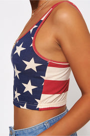 Americano Stars & Stripes Vest Top