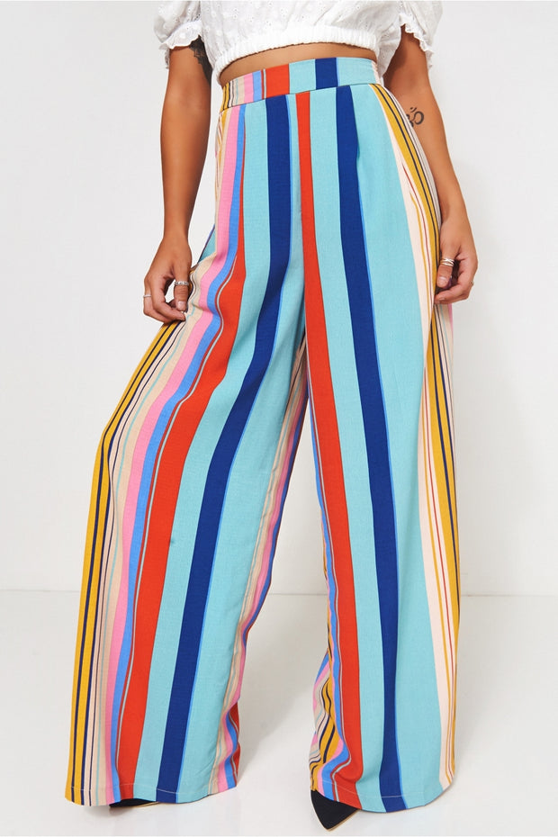 Candystripe Flared Trousers