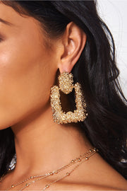 Diablo Gold Statement Earrings