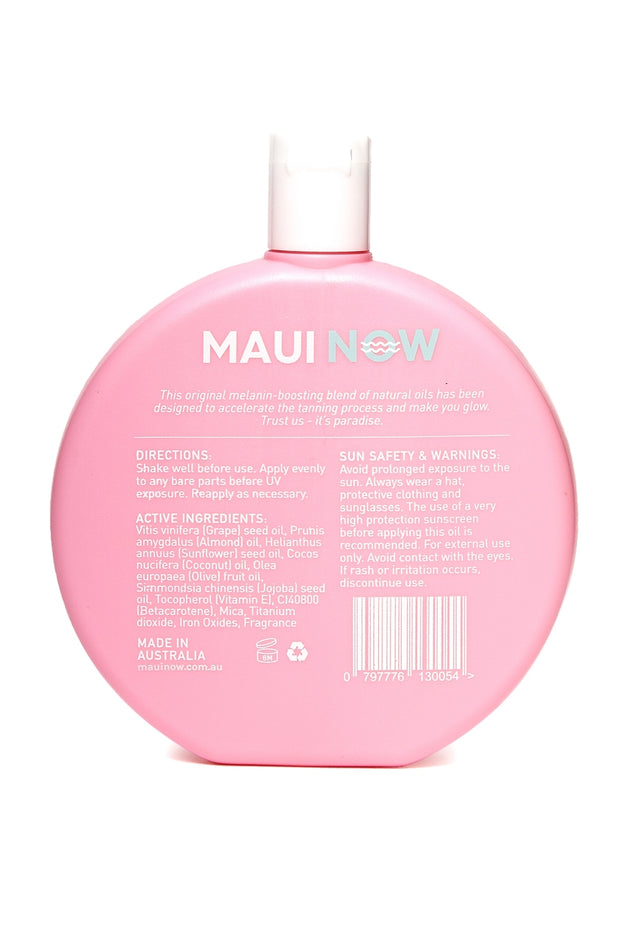 Maui Now Golden Glow Tanning Oil
