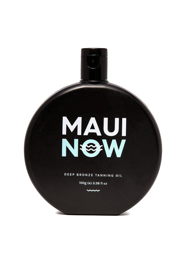 Maui Now Deep Bronze Tanning Oil