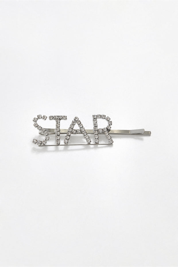 Star Diamante Hair Slide
