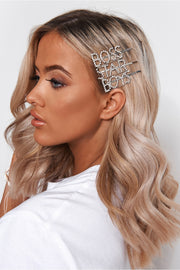 Boys Diamante Hair Slide