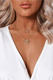 Gold Overlay Necklace
