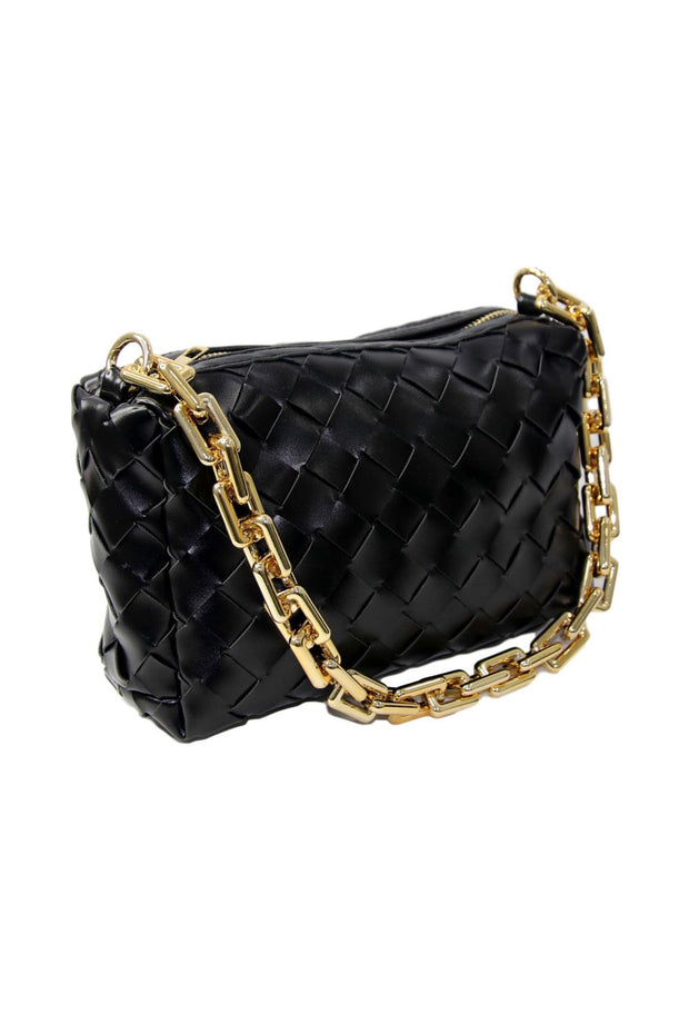 Coco Black Chain Shoulder Bag