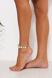 Silver Shell Anklet