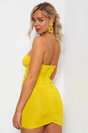 Yellow Ring Bodycon Dress