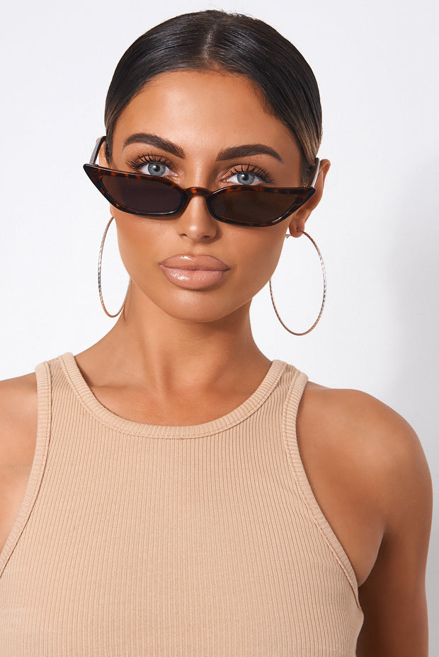 Tortoiseshell Cat Eye Sunglasses