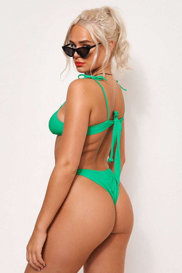 Ava Green Ring Bikini
