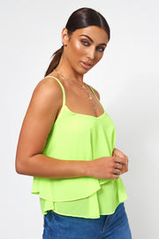 Neon Green Swing Top