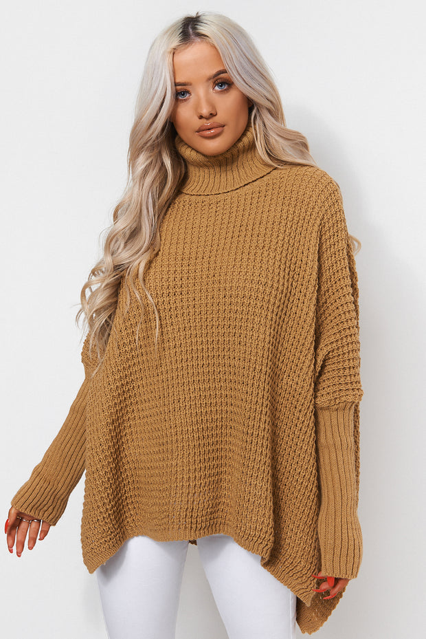 Oversized Mustard Jumper