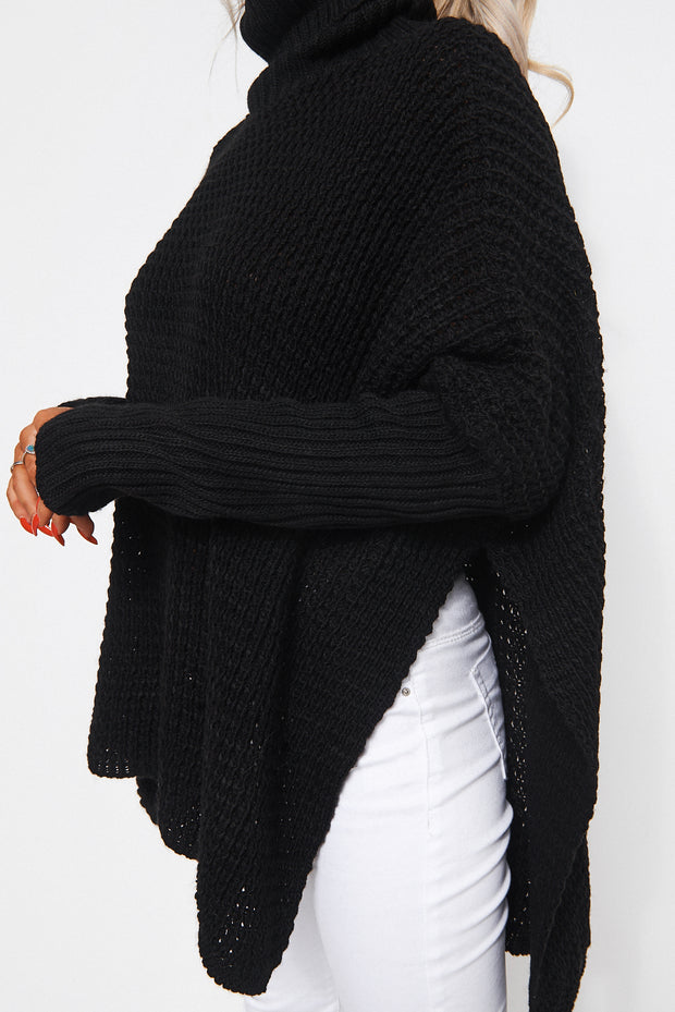 Oversized Black Jumper