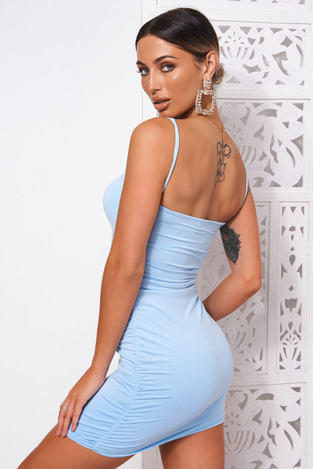 Mya Blue Bodycon Dress