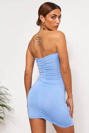 Dion Blue Ring Bodycon Dress