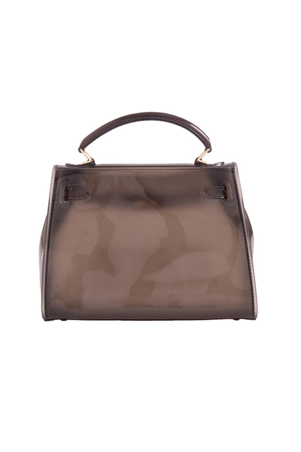 Black Perspex Graffiti Bag
