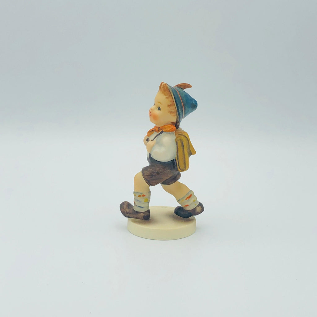 "GOEBEL HUMMEL ""School Boy"" # 82 2/0, TMK3 - Adorable Piece From The Early 1960's"