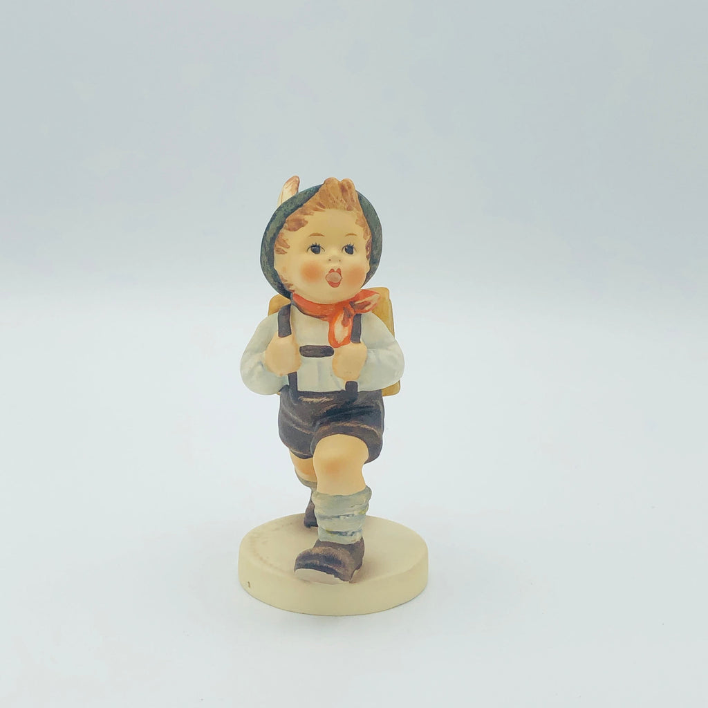 "GOEBEL HUMMEL ""School Boy"" # 82 2/0, TMK5 - Adorable Piece From The 1970's"