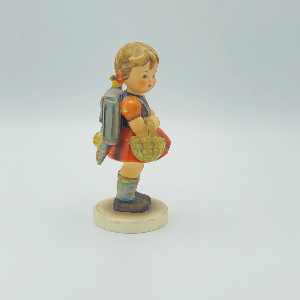 "GOEBEL HUMMEL ""School Girl"" # 81/0, TMK6 - Beautiful Piece From The 1980's"