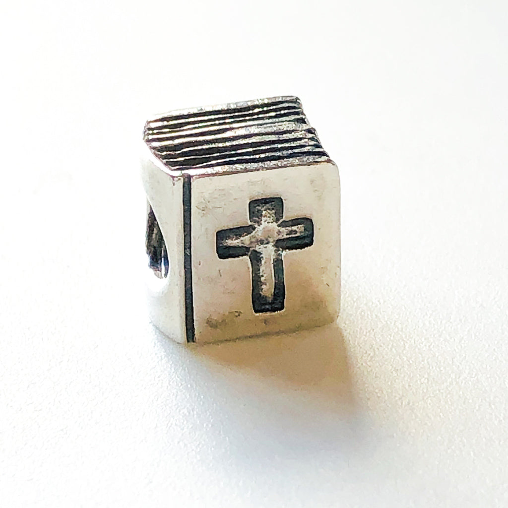 PANDORA BIBLE CHARM Bead #790261 Sterling Silver Retired