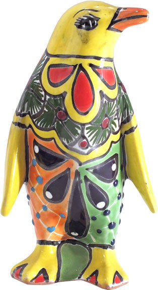 Charming Talavera Handpainted Penguin
