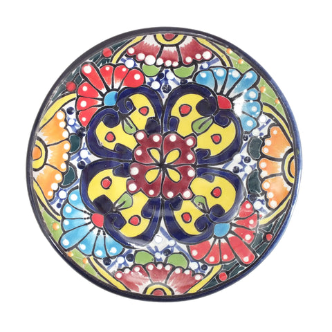 Handpainted Talavera Dessert or Sweet Plate